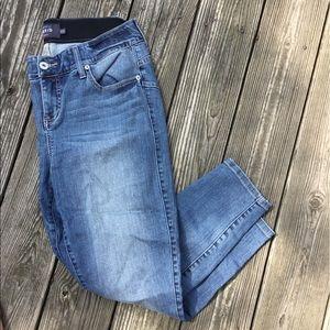Torrid premium elastic waist lightwash skinny jean